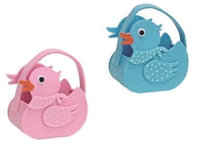 erei Baby Dusche Behandeln Geschenk Ente Rosa Blau Gelb (Gelbe Ente Baby-dusche)