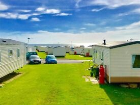 CHEAP CARAVAN FOR SALE IN NORTHUMBERLAND, 2017 FEES INCLUDED, CHEAP FEES, 12 MONTH SEASON & SEA VIEW