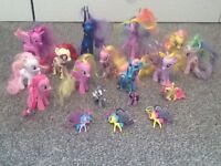 My little pony bundle Great condition 18 piece
