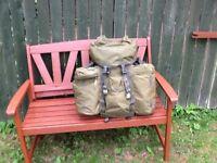 Military style rucksack