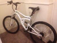HyperBike Co Mountain Bike with lock