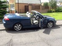 SAAB CONVERTIBLE 2006 SAAB 9-3 LINEAR CONVERTIBLE 62000 MILES,ONE OWNER,LOOKS AND DRIVES AMAZING.