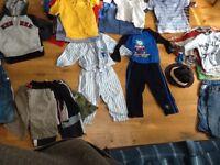 Big bundle of boys clothes (1.5 to 2yrs)