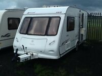 2007 elddis AVANTE 482/2 berth end changing room with fitted mover & awning