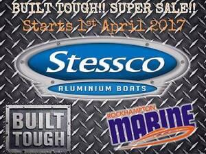 TOUGH Stessco Boats Super Sale @ Rocky Marine Rockhampton Rockhampton City Preview