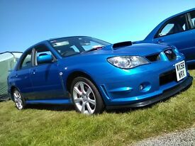 2006 Subaru Impreza WRX SL, including private plate!