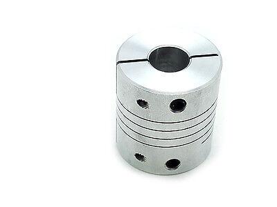 Us Stock 9.5 X 12.7mm 38 X 12 Flexible Shaft Coupling Rigid Coupler D25 L30