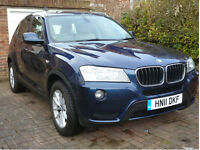 BMW X3 20d SE xDrive 5dr - May 2011 - ONLY 40,400 MILES