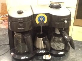 Morphy Richards Capuccino,Expresso and filter coffee maker