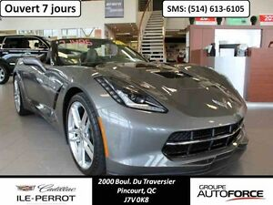 2015 CHEVROLET CORVETTE STINGRAY CONVERTIBLE Z51 3LT, Z-51 Conve