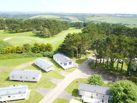 holiday home lodge static caravan Newquay Cornwall family friendly park sand beaches heated pools