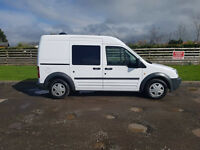 2009 59 FORD TRANSIT CONNECT 1.8 TDCI 230 LX, LWB HIGHTOP, CREW VAN PX WELCOME