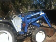 Tractor Euroleopard FT454  including Front End Loader and Slasher Tuncurry Great Lakes Area Preview