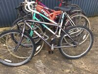 Job Lot of 5 Bikes all for spares or repairs