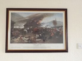Rorkes Drift Picture in frame