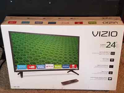 """VIZIO - 24"""" Class LED FHD D-Series 1080p Smart  TV HDTV black W gaming remotes  for sale  Shipping to South Africa"""