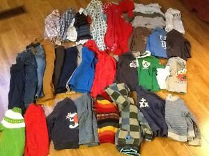 Lot of fall and winter clothes for boys size 18-24