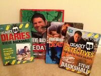 Steve Backshall Collection, including books from the popular series, deadly 60. perfect condition