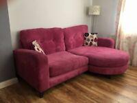 Sofa with peninsula