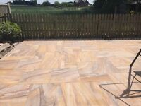 Rainbow Indian Sandstone Sawn Smooth Patio Pack 21m2 Natural Paving Stone £399 collected