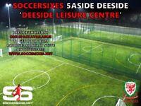Deeside Soccersixes - Teams Needed