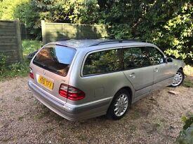 Mercedes E220 cdi estate 7 seats BOSE 90% dealerships service history new MOT