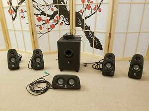 Logitech z506 5.1 Surround Sound System with 3D Stereo Capital Hill South Canberra Preview