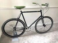 Custom Lightweight Steel Commuter Bike Single/3-Speed