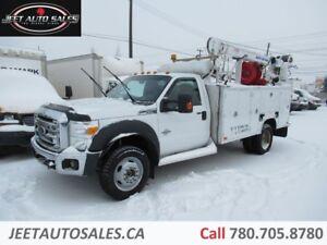 2012 Ford F-550 XLT 4X4 Service truck