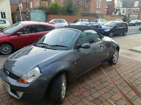 FOR SALE Ford StreetKa - convertible, brand new stereo system, A/C & heated seats, leather interior