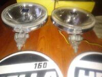Hella 160 chrome fog lamp