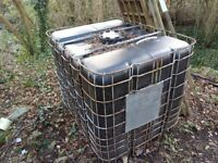 Large Water Tank, ideal for garden or allotment rain water collection