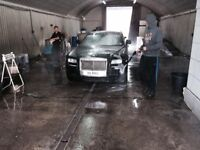 Hand Car Wash Valeting Business For Sale - Busy City Centre Area - High End Clients - Contracts