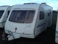 2005 sterling ECCLES moonstone 4 berth end changing room fitted mover awning & extras