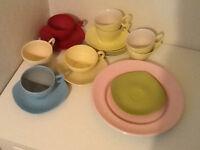 Vintage melamine picnic ware (job lot)