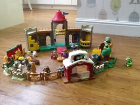 Fisher Price Little People Castle and Village
