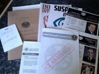 Agent Phil Coulson Case Files/Dossier Agent of SHIELD Prop Replica