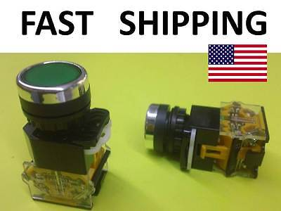 Heavy Duty Dpst Push Button Switch - Start Stop Industrial Replacement Hd