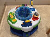 Leapfrog Learn and Groove Activity Centre with sounds and music.