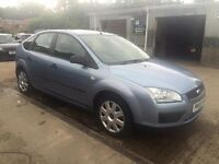 ** NEWTON CARS ** 05 55 FORD FOCUS 1.4 LX, 5 DOOR, GOOD OVERALL, CAT-C, MOT AUG 2017, P/EX POSS