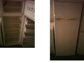 TELEFAC FRIDGE FREEZER 56 INCHES HIGH X 21 INCHES WIDE GOOD WORKING ORDER PLEASE RING ONLY