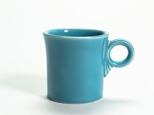 Vintage Fiesta Ware Turquoise - Tom and Jerry Mug / Cup