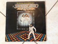 SATURDAY NIGHT FEVER DOUBLE ALBUM VINYL LP