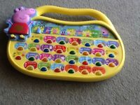 Peppa Learning toy by inspiration,very educational for kids,works with batteries,excellent condition