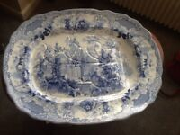 Beautiful antique Platter for sale
