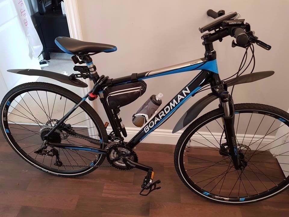 Boardman Hybrid bike (lots of Extras)