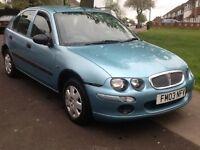 2003 Rover 25l 1.4 Long mot 1 owner 2 X keys BARGAIN!!!!!