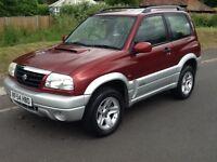 Suzuki Grand Vitara SE TD (metallic red) 2004
