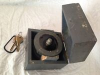 genuine ww2 fighter pilots compass in its wooden case,large.