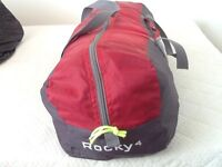 Little used, great condition. Rocky 4 4 man tent